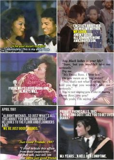 Michael Jackson & Diana Ross. I believe he always loved her, she always held his heart. SO many of his songs could be about her...