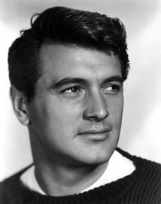 Rock Hudson Hudson was one of Hollywood most popular, handsome leading men in the and early He is best known for the sophisticated romantic comedie. Hollywood Icons, Hollywood Actor, Golden Age Of Hollywood, Vintage Hollywood, Classic Hollywood, Old Hollywood Stars, Hollywood Actresses, Classic Movie Stars, Classic Movies