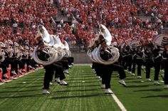 TBDBITL...straight lines, knees up, and ALL BRASS BABY!!!!!