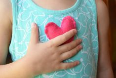 Fill a pocket heart with love as a back to school keepsake for your child. A nice tool for helping to deal with nerves or anxiety about going back to school. Quick and easy to sew! Back To School Gifts For Kids, Going Back To School, Your Child, Anxiety, Fill, Pocket, Sewing, Heart, Dressmaking