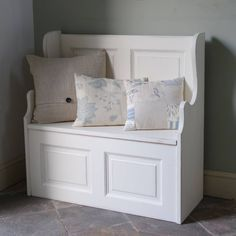 Two Seater Monks' Bench Hand Painted In Any Colour