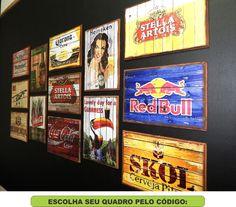 Quadro Bebidas Vintage Retro Rustico Bar Restaurante - R$ 15,00 no MercadoLivre                                                                                                                                                      Mais