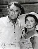 -Photo-Veteran-Actress-Jeanette-Nolan-Played-Dirty-Sally-In-Gunsmoke Both in The Virginian Jeanette Nolan, The Virginian, Famous Couples, Western Movies, Westerns, Actresses, Actors, Sally, Cowboys