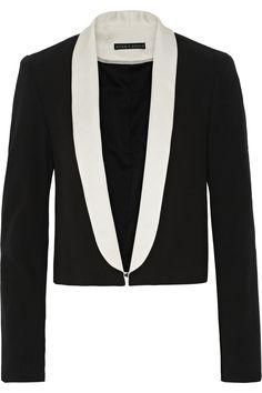 Dinner and a Movie // Alice + Olivia #tuxedo #jacket #COOLS
