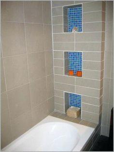 36 best recessed shower shelf images bathroom recessed shower rh pinterest com