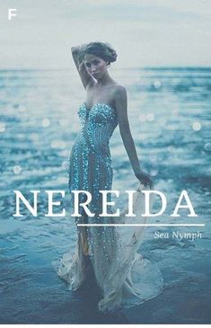 Nereida meaning Sea Nymph Greek names N baby girl names N baby names female names whimsical baby names baby girl names traditional names names that start with N strong baby names unique baby names feminine names nature names water names Baby Names 2018, Rare Baby Names, Unisex Baby Names, Country Baby Names, Southern Baby Names, Southern Girls, Female Character Names, Female Names, Baby Girl Names