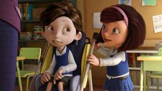 The short animated film Cuerdas – the story of a friendship between orphan Maria and her new classmate Nicolàs, who has cerebral palsy – has already had considerable success. Not only has its director and screenwriter Pedro Solis, from Guadalajara. Movie Talk, World Languages, Cerebral Palsy, Teaching Materials, Teaching Ideas, Teaching Spanish, Spanish Lessons, Animation Film, Human Connection
