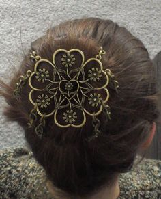 Vintage Beaded Hair Bun CoverSnood Hair Buns Metal Hair And Snood - Diy bun cover