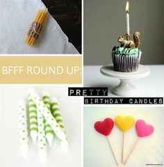 Our favorite birthday candles. The match stick candles are my favorite!