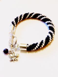 """by SHINE  """"ELEGANCE """" Bead  BRACELET from Jewellery with a Touch of Magic bySHINE by DaWanda.com"""