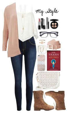 """My Style"" by rachellynn-couture ❤ liked on Polyvore featuring ONLY, Bamboo, Mary Kay, NYX, MAC Cosmetics, Under One Sky, Nanette Lepore and Accessorize"