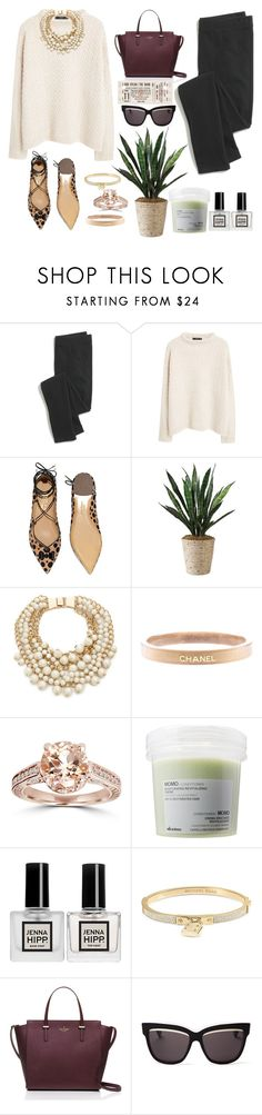 """""""reforget"""" by thosewhowonderarenotalwayslost on Polyvore featuring Madewell, MANGO, Salvatore Ferragamo, Kate Spade, Chanel, Davines, Michael Kors and Christian Dior"""