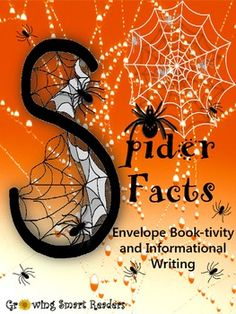 Spiders are a super topic for research and hands-on fun... even for the squeamish! So let your kids have a spectacular time with spiders with this envelope book of facts. This book-tivity - spider craft is a pocket-sized envelope book with fact cards that slip in. A balance of informational learning and arachnid-atious fun!