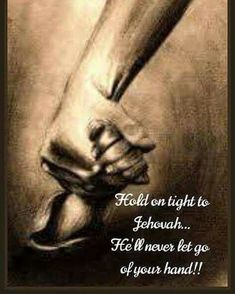Isaiah For I, Jehovah your God, am grasping your right hand, The One saying to you, 'Do not be afraid. Faith Quotes, Bible Quotes, Jehovah S Witnesses, Jehovah Witness, Jehovah Names, Bible Encouragement, Spiritual Thoughts, Bible Truth, Bible Scriptures