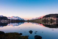Bronze minutes of golden hour.  Solavågen, Møre og Romsdal Photography by©Matija Fabijan