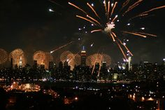 fireworks new york