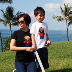 Looks Like Mr. Tee... Woman & Toddler TShirts by micielomicielo, $50.00