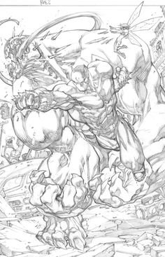 Kwan Chang :: For Sale Artwork :: Ultimates 3 # 1 by artist Joe Madureira Comic Book Pages, Comic Book Artists, Comic Book Characters, Comic Artist, Comic Character, Comic Books Art, Joe Madureira, Comic Panels, Comic Styles