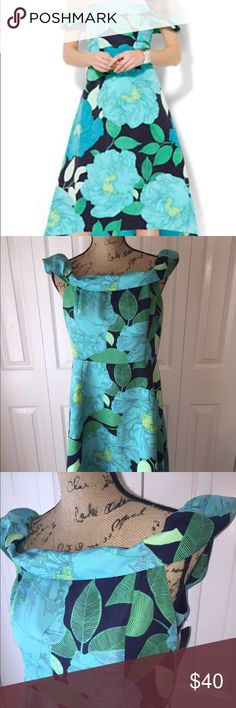 NWT Floral Dress Size 10 So flattering. Retail $74.95. Perfect for a Summer/Fall wedding. No trades please. Open to offers! Dresses Midi