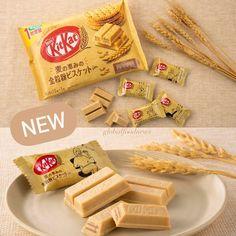 NEUES von KITKAT JAPAN 🇯🇵 #unbezahlteWerbung Jetzt wird's 'gesund' 😉 In Japan gibt es jetzt mini KitKats mit Vollkornkeks. Hört sich… Kit Kat Flavors, Buttered Corn, White Chocolate, Japan, Cheese, Mini, Food, Healthy, Essen