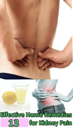 13 Effective Home Remedies for Kidney Pain
