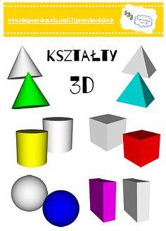 Drukowane zadania matematyczne dla dzieci free printable maths ksztaty 3d freeee ccuart Choice Image
