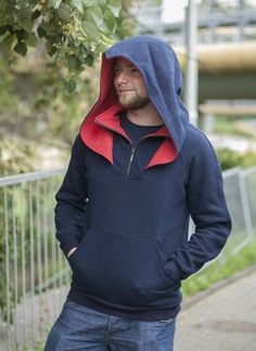 Check out this item in my Etsy shop https://www.etsy.com/listing/278146362/male-assassins-hoodie-by-wolvenstyle