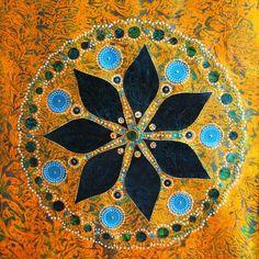 A l'ombre de la lumiere | Set-Art, hand-made persian swedish parisian abstract paintings