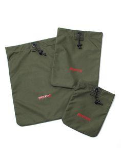 PURSE SAC(3set)  Three-size drawstring bag set.  ¥13,650