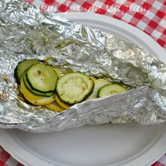 camping food- tin foil packets