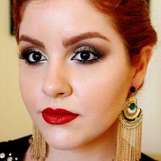0 video tutorial maquiagem baile de formatura casamento glitter dourado classica daianne possoly 6