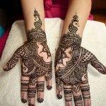 Bridal Henna Mehndi Patterns for Hand