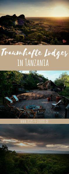 Auf unserer sechstägigen privat Safari in Tansania haben wir in wunderschönen Lodges übernachtet. #honeymoon #Tanzania #safari