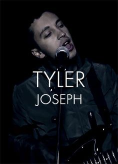 And this my friends is one of my many crushes that will never notice me aka Tyler Joseph