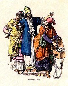 Plate #4a - Ancient Judah - Jewish Noblemen