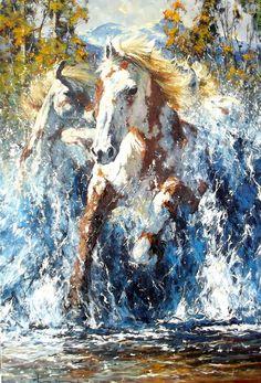 The Fine Art Of Robert Hagan | Western and Romantic Art | Gallery