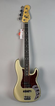 The Fender American Elite Precision Bass raises the bar right through the roof by taking one of the most iconic instruments ever produced and updated it with a