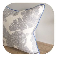 One Cushion - Silver Turtle Tropical by islandinspiredhome on Etsy