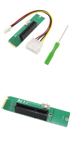 PCI-E 4X Female To NGFF M.2 M Key Male Adapter Power Cable Converter Card  ju06