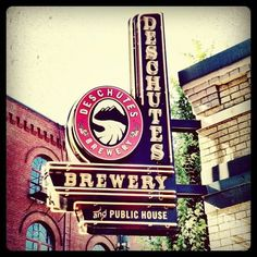 Deschutes Brewery... First place I go every time I go to Bend, OR.