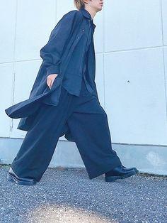 シャツコートをコートに。 Instagram→wear_sena 遊びに来てね🚶🏻♂️