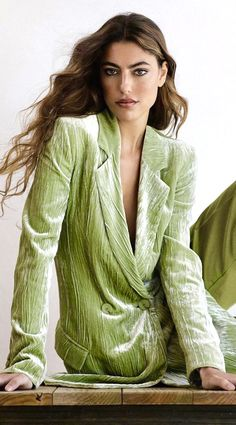 Armani Strike A Pose, Giorgio Armani, Runway Fashion, What To Wear, Stylists, Vogue, Velvet, Leather Jacket, Glamour