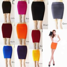 Fashion Style Women's Thin Wrapped Hip Skirt Dress