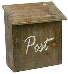 Postkasse Post m/hvid teks