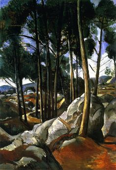 Path in the Forest of Fontainebleau Andre Derain 1911 Henri Matisse, Paul Cezanne, Art Fauvisme, Andre Derain, Raoul Dufy, Westminster, Pablo Picasso, French Artists, Vincent Van Gogh