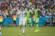 Com dois de Messi, Argentina bate Nigéria e garante os 100%
