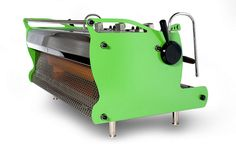 custom lime green synesso by espressoparts US. #coffee