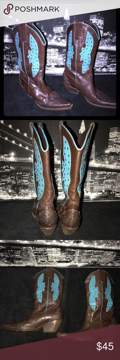 BCBGirls Cowboy style boots These boots are in great shape! Cute and stylish for a night out on the town or just everyday wear. Cute detailing. BCBGirls Shoes Heeled Boots