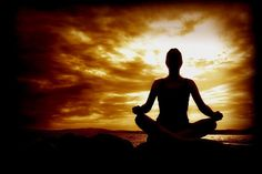 Meditation brings peace and knowledge of ourselves