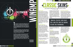 The colors, the typography, the boldness of this design is what will capture the attention of viewers. Using a black and white background does a great job of creating contrast. You have these bold and fun colors on the left side of the page which are also carried over onto the right page in order to create an association between pages. The one thing I may change is the inside margin for both pages. The text on the right page seems slightly to close to the inside creese.